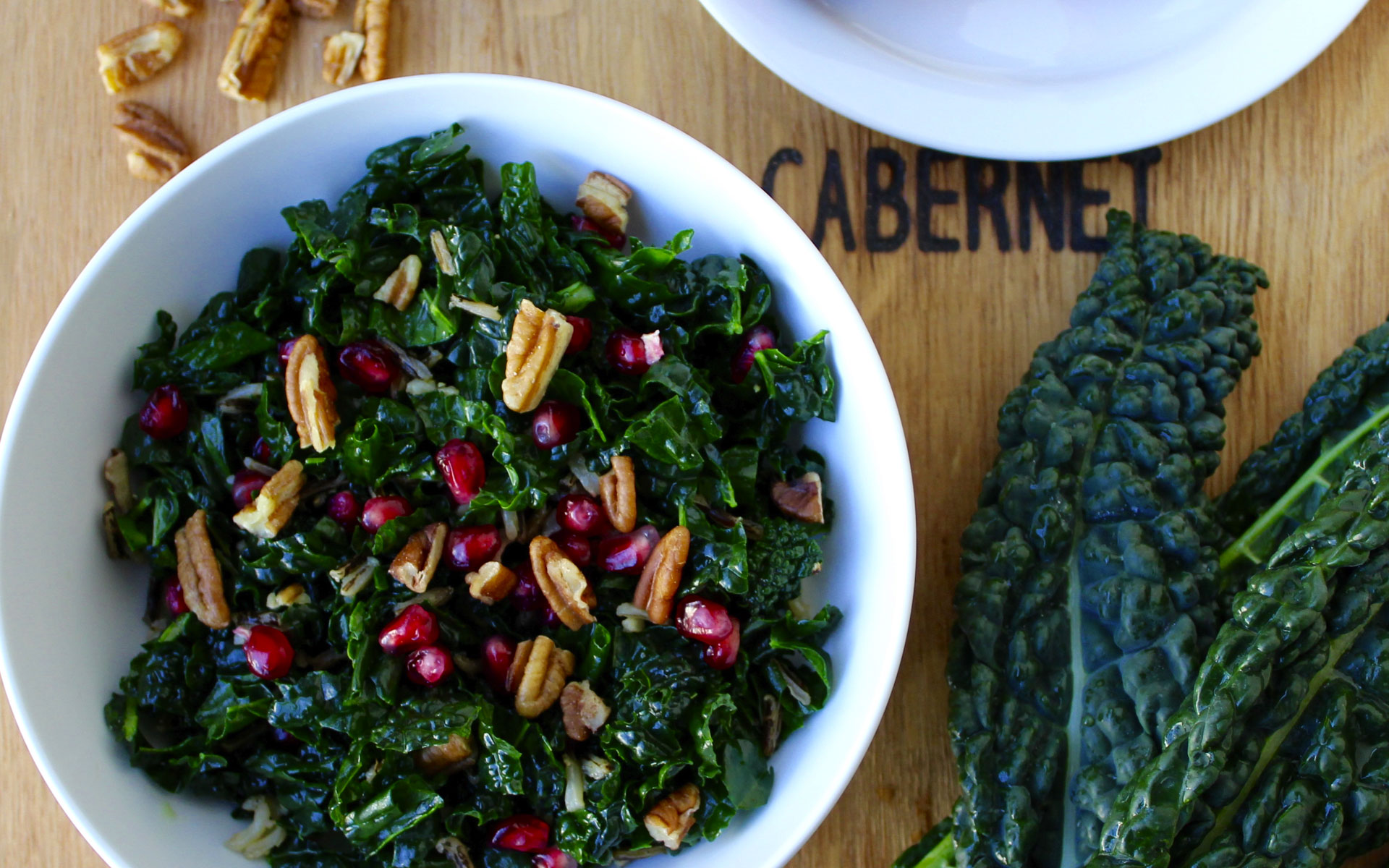 My Go-To Kale Salad Recipe — Dishmaps