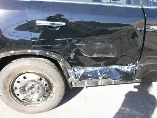 012 Kia Sorento SX rear damage