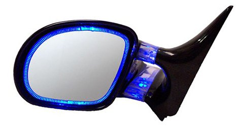 If your vehicle wasn't originally equipped with mirror-based lights, CIPA's Optic Glow Replacement Mirrors allow you to add this feature with just a small amount of wiring. With colored LEDs built in to the base and behind the mirror glass, they can either be wired to blink with turn signals or stay solid as running lights when ignition or headlights are switched on. For those that like the styling of these particular mirror assemblies but would prefer them with traditional amber turn signals on the outside mirror housing, CIPA offers the Optic LED Replacement Mirrors with Amber Lighting. They're also available in value-priced standard form without any lights.